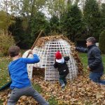 Play Snow Igloo Structure, Fall, Automne, fun for the whole family